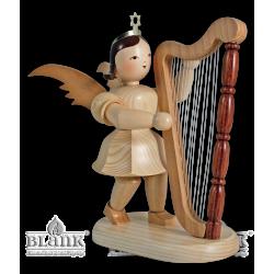 Kurzrockengel mit Harfe, 20 cm