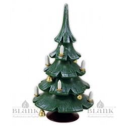 WBF Weihnachtsbaum mit Glöckchen, farbig von Blank Kunsthandwerk, Gruenhainichen