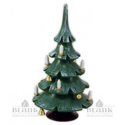 Christmas Tree with Bells, coloured
