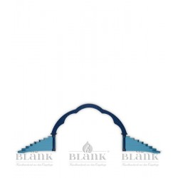 Dekorationsbeispiel Wolkenbogen mit Engelstufen, farbig