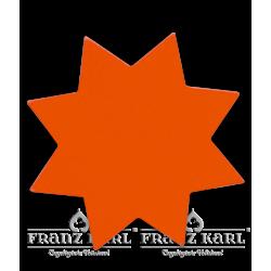 Stern, rot, groß - 6 cm