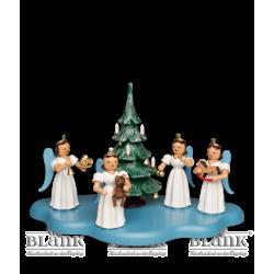"""Dekorationsbeispiel Figurengruppe """"Weihnachtstraum"""""""