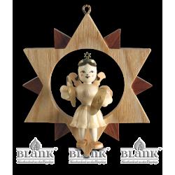 ES 003 Engel im Stern mit Becken von Blank Kunsthandwerk, Gruenhainichen