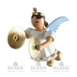 Hanging Angel with Cymbals, coloured