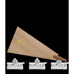 PG 010 FLUEGEL Ersatzteil für Dompyramide, natur - Vorderseite