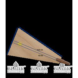 PG 010 FLUEGEL Ersatzteil für Dompyramide, natur - Maße
