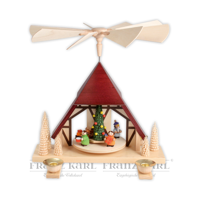 """2220 Pyramide """"Kinderweihnacht"""" - 26 cm"""