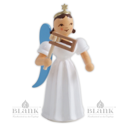 ELF 083 Angel with Long Pleated Robe and Ratchet, coloured