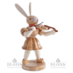 OH 011 Osterhase mit Violine von Blank Kunsthandwerk, Gruenhainichen