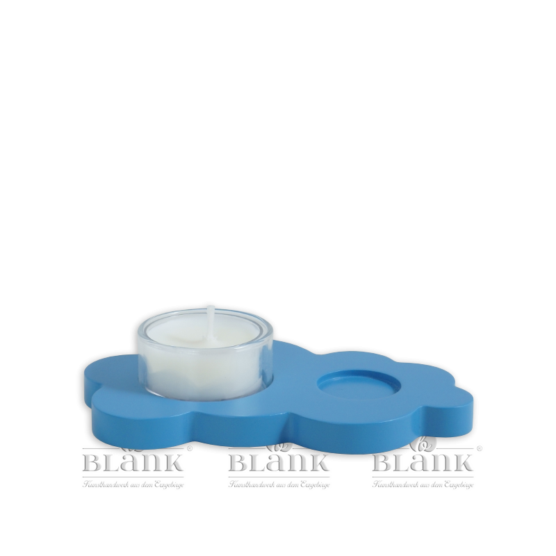 WOF 007 T  Angel's Cloud with Tealight, coloured