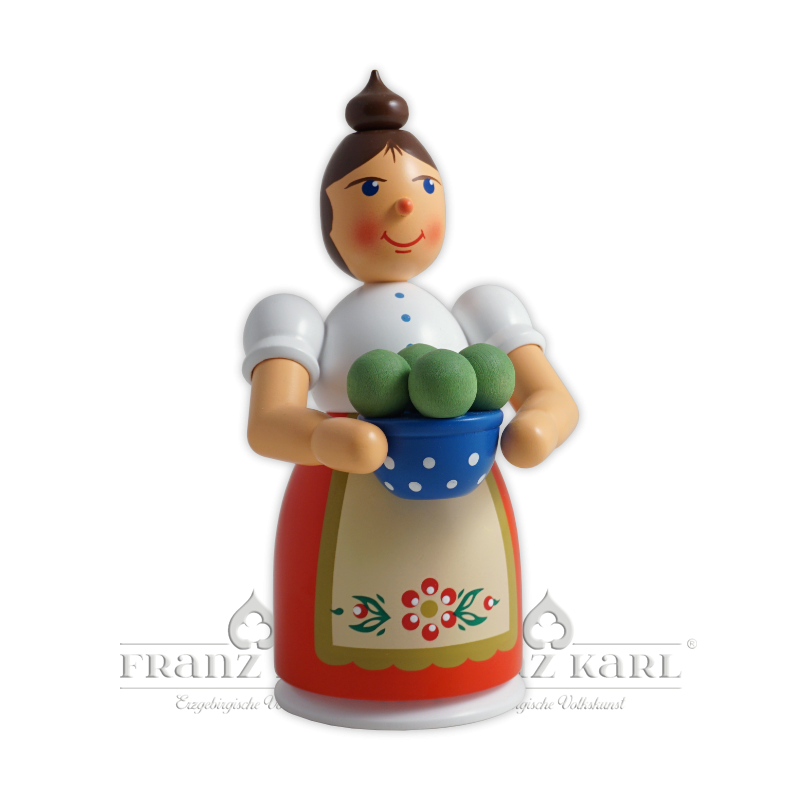 1191 Rauchfrau mit Schürze und Klößen
