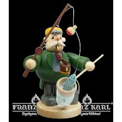 1534 Pipe Smoker Fisherman