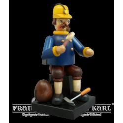 "1735-0 Räuchermann ""Steenesammler Hart"" (ohne Mineralien)"
