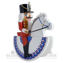 "3026 REIT Nutcracker ""Hussar"" as horseman, red"