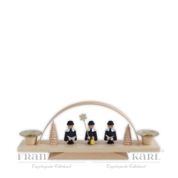 "4005 Candle Arch ""Carolers"", front side"