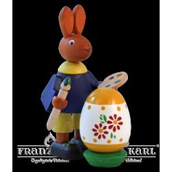 7140 Osterhase mit Ei von Blank Kunsthandwerk, Gruenhainichen