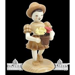 BM 025 Girl with Flower Pot
