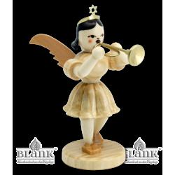 EK 017 Kurzrockengel mit Trompete von Blank Kunsthandwerk, Gruenhainichen