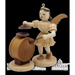 EK 072 Angel with Short Pleated Skirt and Cymbal-Timpani