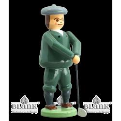 GOF 005 Golfer Onkel Albert, farbig von Blank Kunsthandwerk, Gruenhainichen