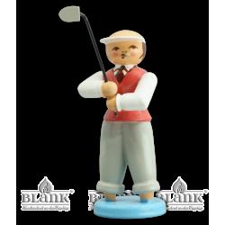 GOF 006 Golfer Kreatur aus der Lagune, farbig von Blank Kunsthandwerk, Gruenhainichen