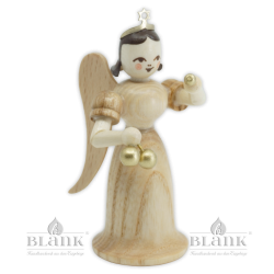 EL-M 006 Angel with Long Robe and Christmas Ornaments