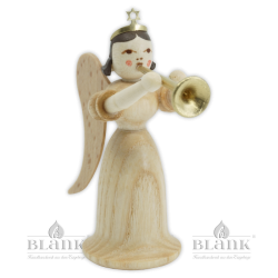 EL 018 Angel with Long Robe and Trombone