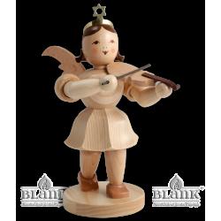 EKM 011 Kurzrockengel mit Violine, 20 cm von Blank Kunsthandwerk, Gruenhainichen