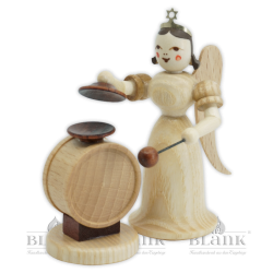 EL 072 Angel with Long Robe and Cymbal-Timpani