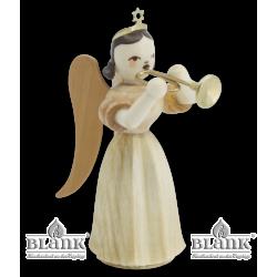 ELN 017 Faltenlangrockengel mit Trompete