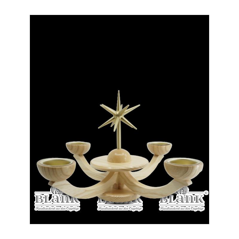 LE 053 T Adventsleuchter mit Teelichthalter
