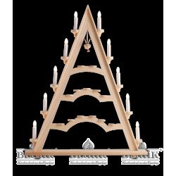 LE 060 Schwibbogenspitze mit einem Schwebeengel von Blank Kunsthandwerk, Gruenhainichen