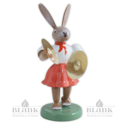 OHF 006 Easter Bunny with Cymbals, coloured