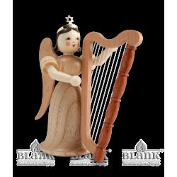EL 008 Langrockengel mit Harfe von Blank Kunsthandwerk, Gruenhainichen