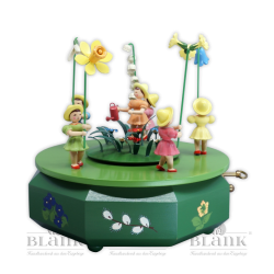 SPF 004 Music Box with 5 Flower Children, coloured