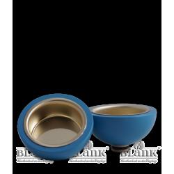 TL 14BL Teelichtadapter, blau von Blank Kunsthandwerk, Gruenhainichen
