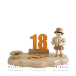 WO 004-2 Girl Congratulator with Set of Numbers 1-9