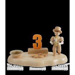 WO 004-3 Gratulanten-Junge mit Zahlensatz 0-9 von Blank Kunsthandwerk, Gruenhainichen