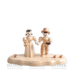 WO 004-4 Bridal Couple on a Cloud