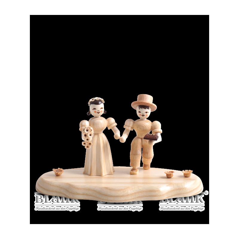 WO 004-4 Brautpaar auf Wolke