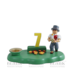 WOG 004-2 Boy Congratulator with Set of Numbers 1-9, coloured