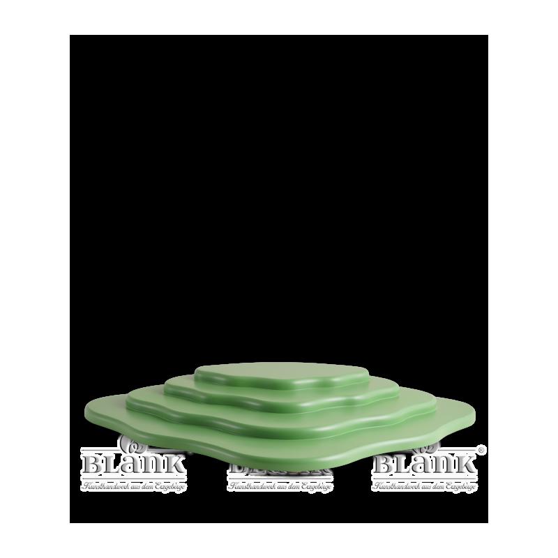 WOG 005 Wiese für Blumenkinder mit 4 Etagen, grün