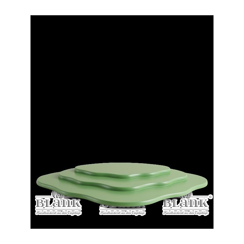 WOG 001 Wiese für Blumenkinder mit 3 Etagen, grün