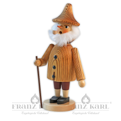 "1100 Incense Smoker ""Gnome"", sanded"