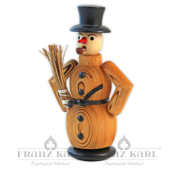 "1140 Incense Smoker ""Snowman"", sanded"