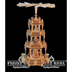 """2630 Pyramid """"Nativity"""", 3 levels"""