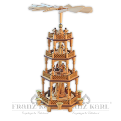 "2630 Pyramide ""Christi Geburt"", 3 Etagen"