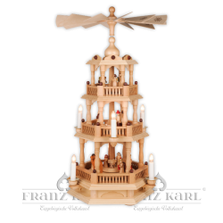 2660 E Pyramid with baroque fence, 3 levels, electric