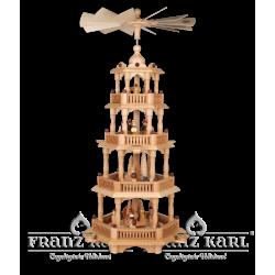 2670 Pyramide mit Barockzaun, 4 Etagen von Blank Kunsthandwerk, Gruenhainichen