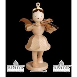 EKG 011 DEKOENGEL Kurzrockengel mit Violine, 50 cm von Blank Kunsthandwerk, Gruenhainichen